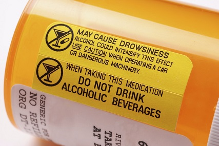Prescription Bottle Warning Label - Genetic testing or Pharmacogenomic Help - Pathways Real Life